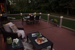 Apple Ridge   Outdoor living area by The Decksperts   Springfield MA