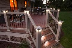 Apple Ridge   Illuminated custom deck by The Decksperts   Springfield MA