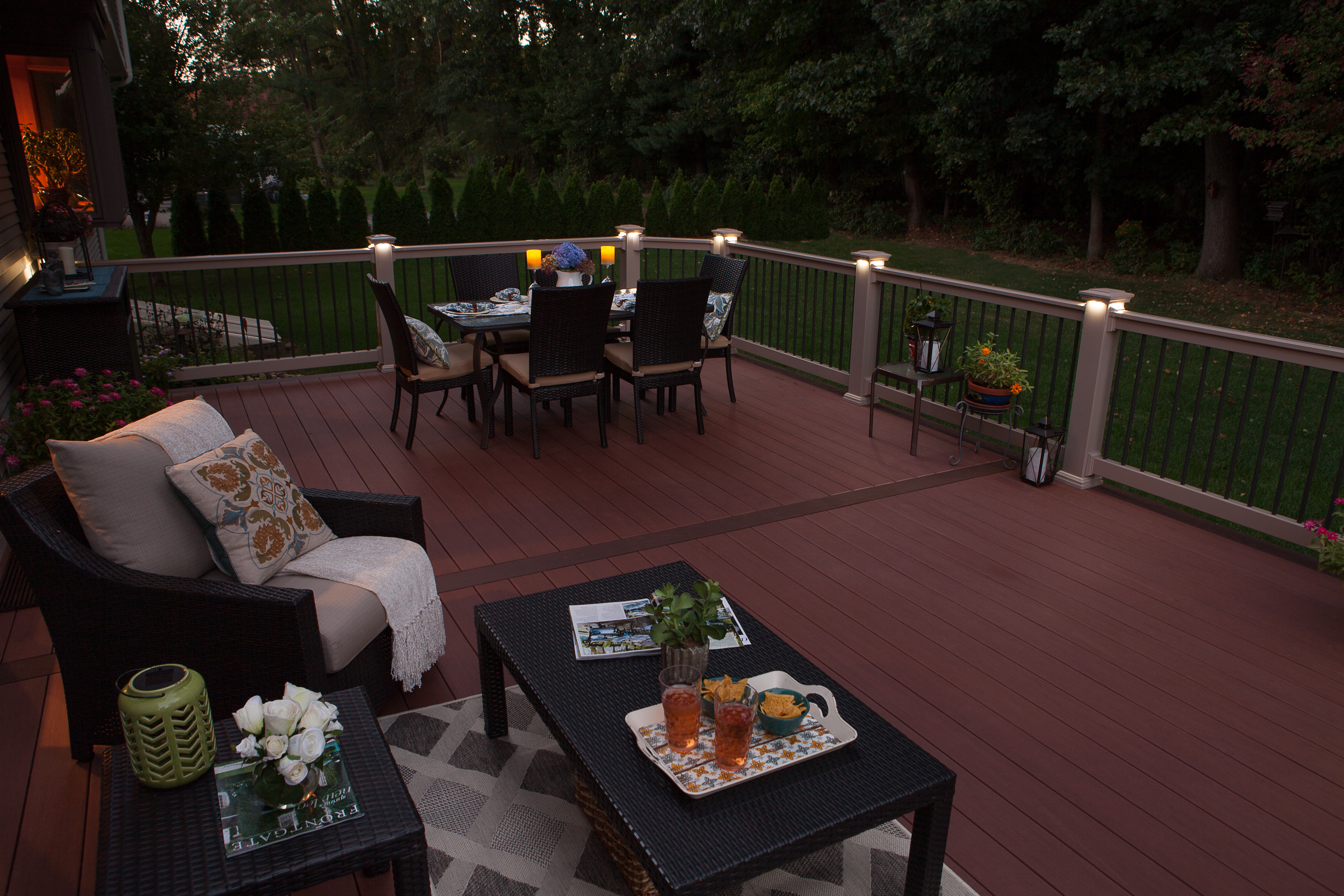 outdoor deck lighting recessed outdoor lighting by the decksperts serving western ma springfield and west lighting custom living space