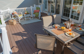 Quality outdoor living space by The Decksperts | Enfield, CT